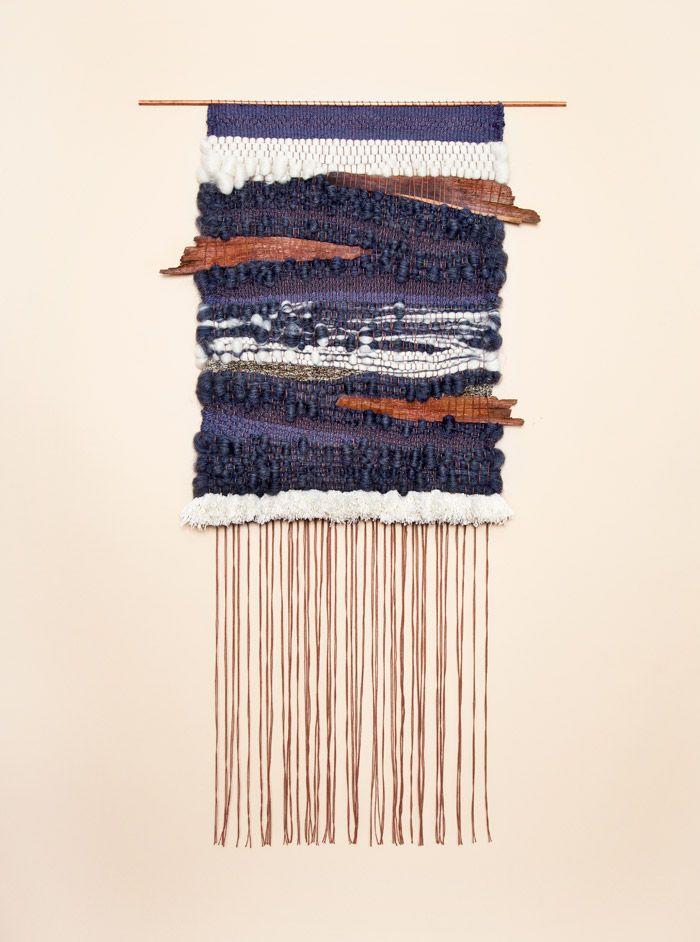 Palm Tree Bark 2 weaving by Brook & Lyn