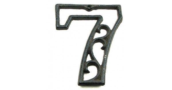 #tosimplyshop Decorative Cast Iron Number Seven #gifts #homedecor #gardendecor #decor #home #garden #shopping