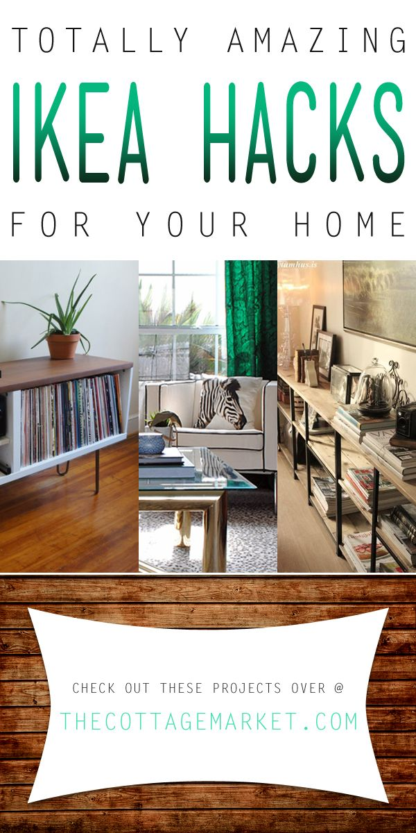 Totally Amazing Ikea Hacks for your Home - The Cottage Market  IKEA Hacks kicked up a notch!