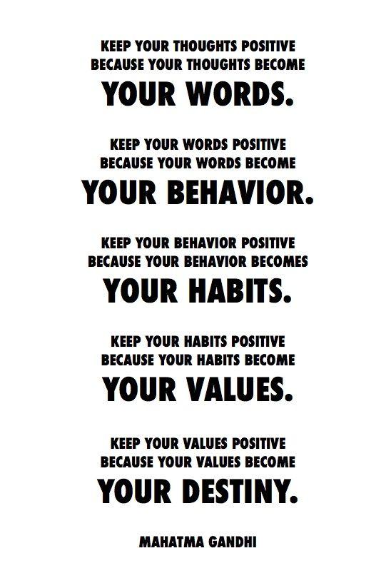 Positive.  - http://myfitmotiv.com - #myfitmotiv #fitness motivation #weight #loss #food #fitness #diet #gym #motivation