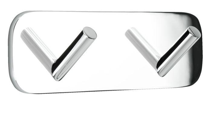 Nya borrfria Solidserien från Beslag Design omfattar krokar och tillbehör i krom, speciellt anpassade för badrum.  #Allabeslag #BeslagDesign #Solid #borrfrimontering #borrfribeslag #badrum #krom