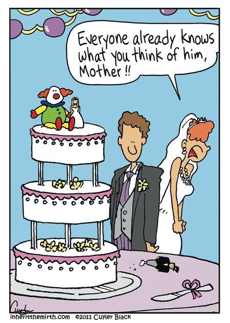 Funny wedding comics