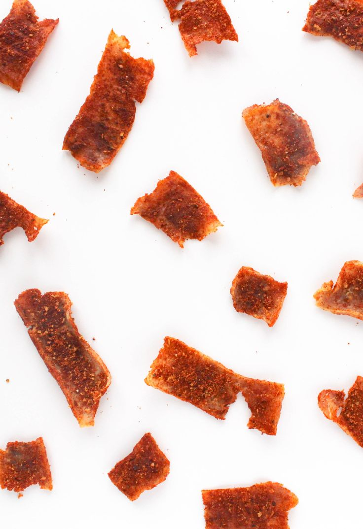 Smoky & Spicy Chipotle Tofu Jerky is a great vegan snack for road trips and camping! Recipe from The Grateful Grazer.