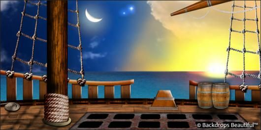 High Quality Wallpapers Fall Theme Backdrops Pirate Ship 4 Deck Backdrops Pirate Photo