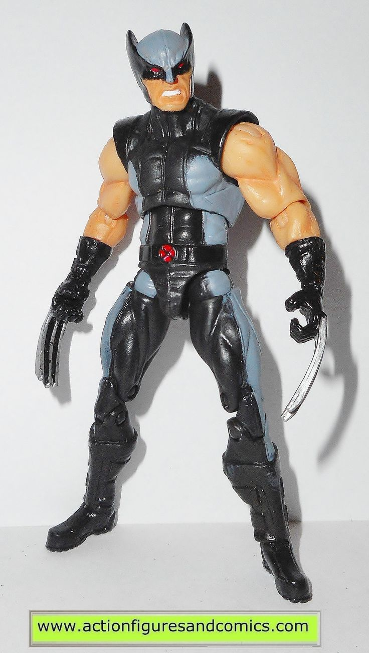 marvel universe WOLVERINE x-force grey gray black x-men hasbro toys