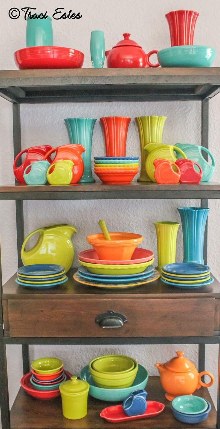 Fiesta® Dinnerware display
