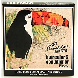 Natural Jet Black Hair Dyes