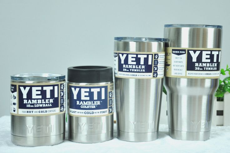 Stainless Steel 12oz/20oz/30oz Yeti Cups Cooler YETI Rambler Tumbler Cup Vehicle Beer Mug Double Wall Bilayer Vacuum Insulated #clothing,#shoes,#jewelry,#women,#men,#hats,#watches,#belts,#fashion,#style