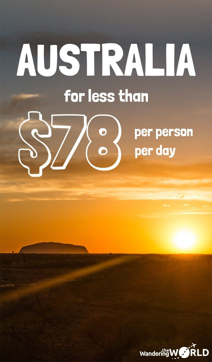 Travel Expenses in Australia - Wandering the World