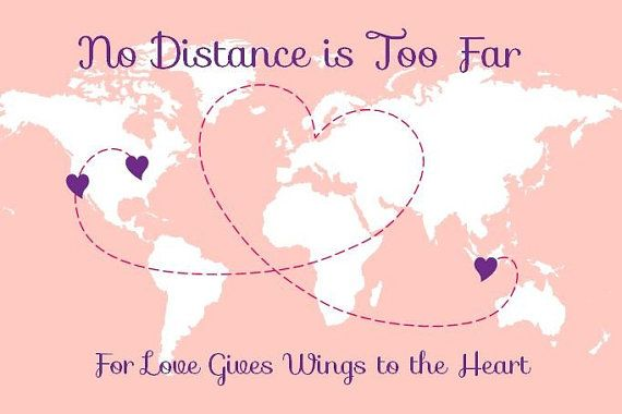 Relocating for a long distance relationship