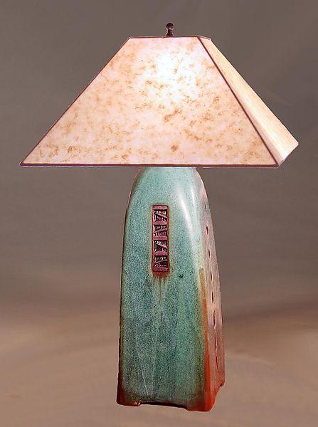 Handmade Ceramic Lamps : Best images about ceramic lamps on pinterest ceramics