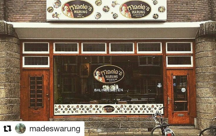 If you are in Amsterdam city you can visit Made's Warung at Cornelis Krusemanstraat 3 or call 31 20 370 42 31  #madeswarung #madeswarungamsterdam #food #bali #islandofthegods #balilife #baliisland #holland #l4l #followforfollow #likeforlike #balibagus #netherlands #amsterdam #indonesia #cafe
