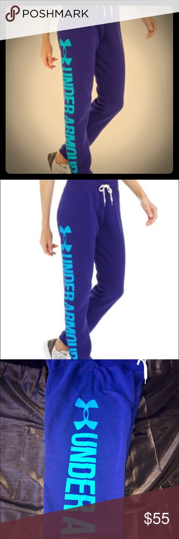 SALE🎉Under Armour French terry joggers size S SALE🎉Under Armour French terry joggers size S Under Armour Pants Track Pants & Joggers