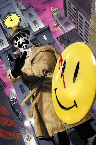 Rorschach Watchmen 7 Android Wallpaper HD