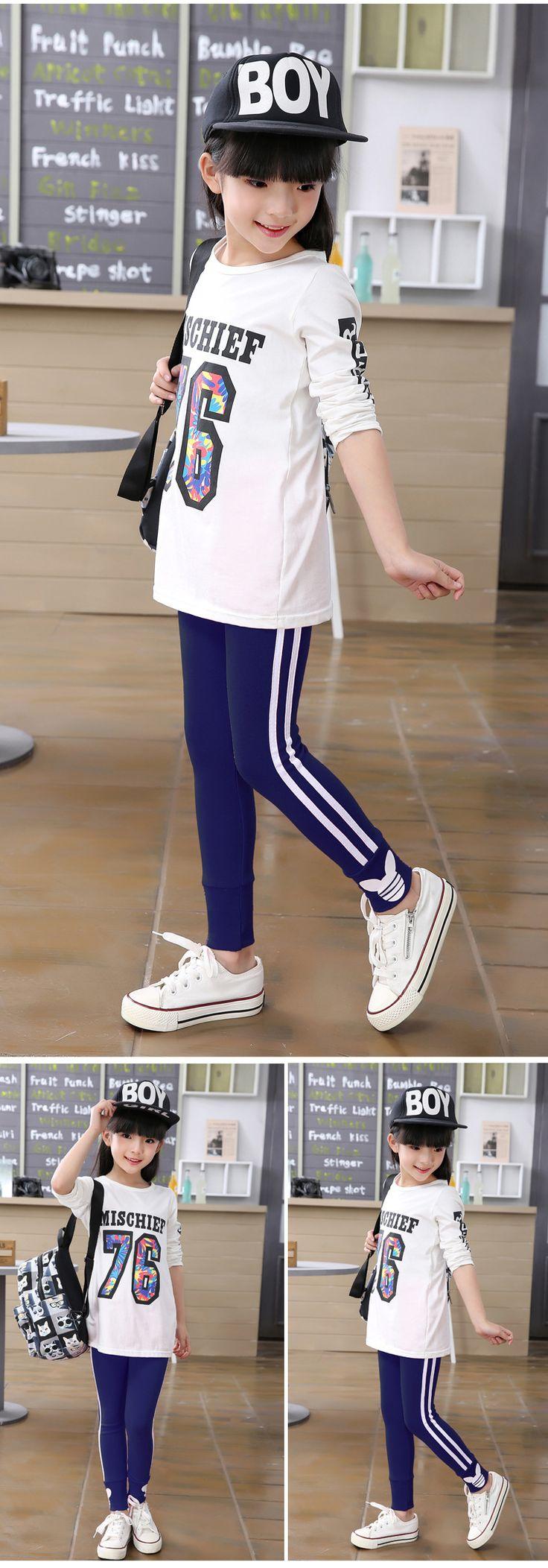 Wiosna jesień dziewczyny legginsy spodnie bawełniane dla dziewczyn sportowe legginsy dziewczyny ubrania 3 8 Lat w Wiosna jesień dziewczyny legginsy spodnie bawełniane dla dziewczyn sportowe legginsy dziewczyny ubrania 3-8 Lat od Pants na Aliexpress.com | Grupa Alibaba