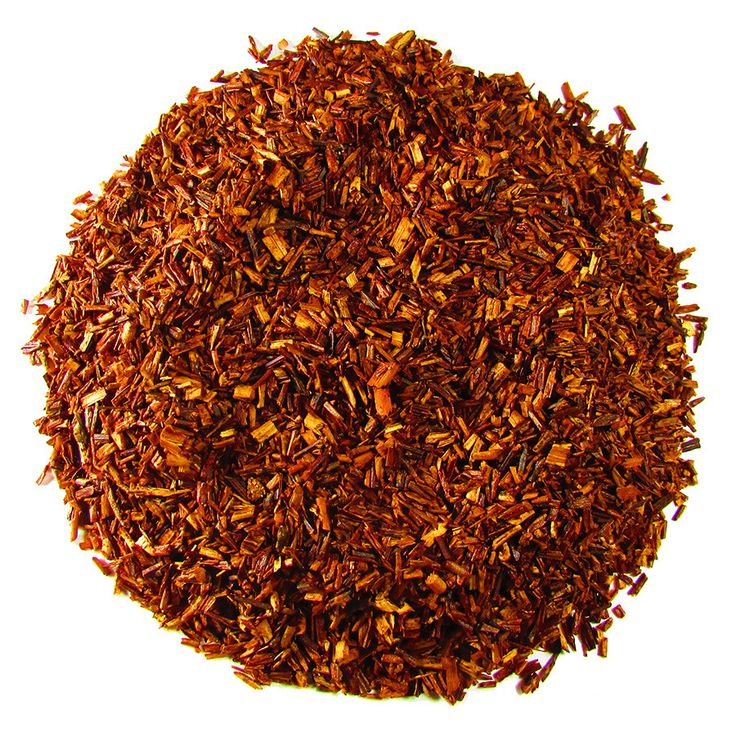 Organic Rooibos – Full Leaf Tea Company  Certified Organic South African Red Bush. A great alternative to Organic Teas to avoid caffeine.  Light, sweet, and smooth. Great iced or hot!   Naturally decaffeinated.