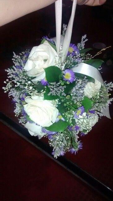 Bouquet tipo cartera. Dama de Honor. Matrimonio