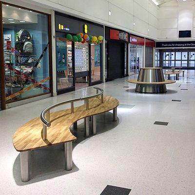 superline bench and saturnus supplied by koberg