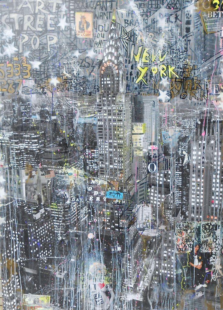 Available @ http://marishagulmann.com/ #art #popart #streetart #newyork #streets #decor #paintings #artwork #colors #home #invest