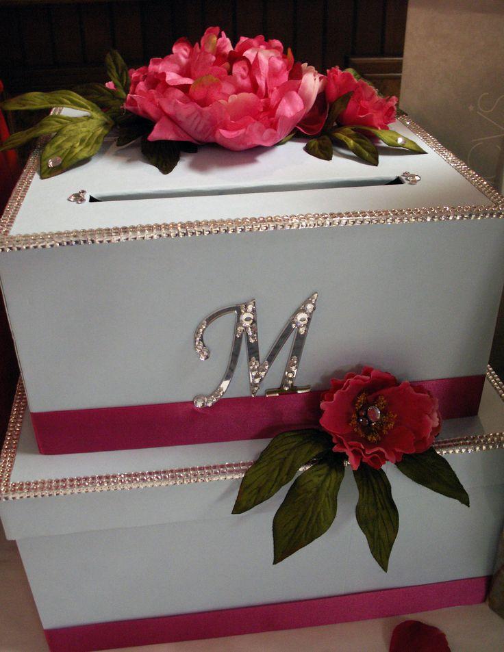 DIY Wedding Card Box: Tutorial / http://www.craftsunleashed.com/index.php/bridal-party/diy-wedding-card-box-project/#