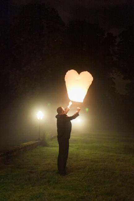 Lâcher de lanternes, wedding planner Mariage dans l'air, photo Ian Holmes