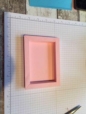 Anleitung Tutorial Shadow Box Card