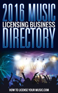 2016 Music Licensing Business Directory