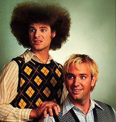 Creators of South Park...one of the funniest shows in the history of shows. Trey Parker and Matt Stone.