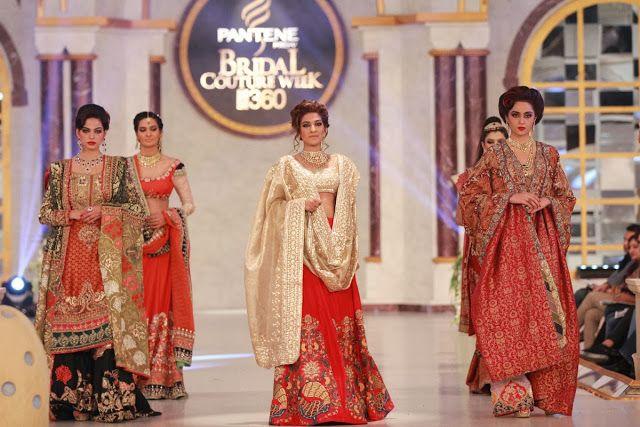 Kamiar Rokni - Pakistani Bridal Fashion PBCW 2013 Lahore
