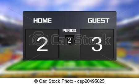 Afbeeldingsresultaat voor 2-3 score bord