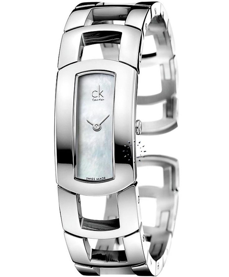 CALVIN KLEIN Dress Stainless Steel Bracelet, 246€ http://www.oroloi.gr/product_info.php?products_id=31927