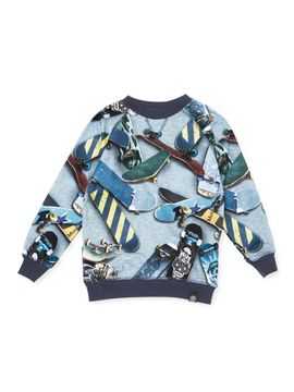 Skateboards Cotton T-Shirt from Popupshop: Scandinavian Clothes for Baby & Kids on Gilt