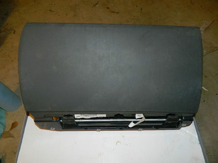 #BMW 645I 650I E63 E64 KNEE #AIRBAG 51167131747 GLOVE #BOX VINYL