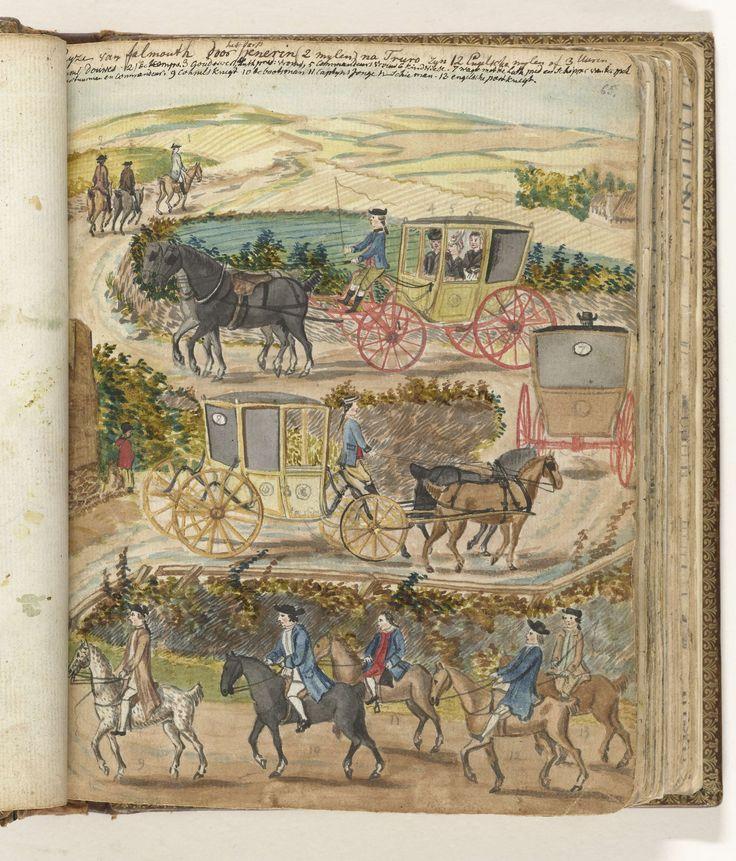 Reis van Falmouth naar Truro, Jan Brandes, 1778