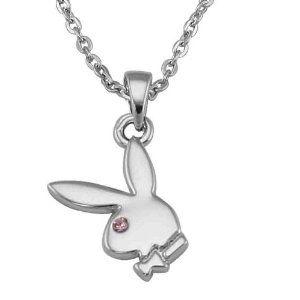 Náhrdelník Playboy Bunny Pink Eye S