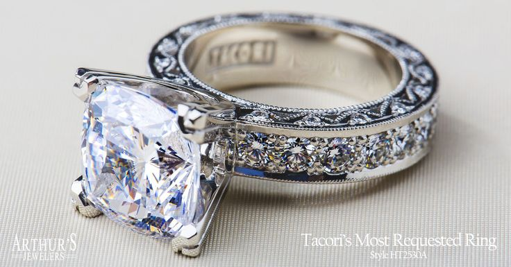 Is this The One? Find your Tacori ring at... Arthur's Jewelers  View Tacori Collection: http://www.arthursjewelers.com/engagement-rings/tacori