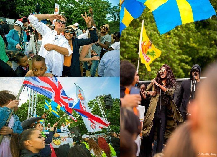 Nationaldagsfirandet på Smedsuddsbadet slog rekord då 10 000 människor från olika generationer och kulturer möttes över gränserna