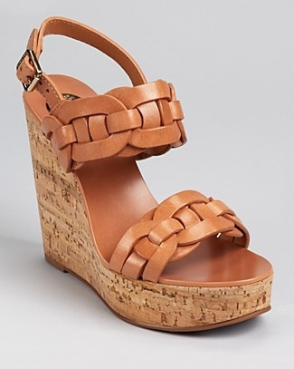tory burch calyca wedge - my latest purchase. they make me super tall!