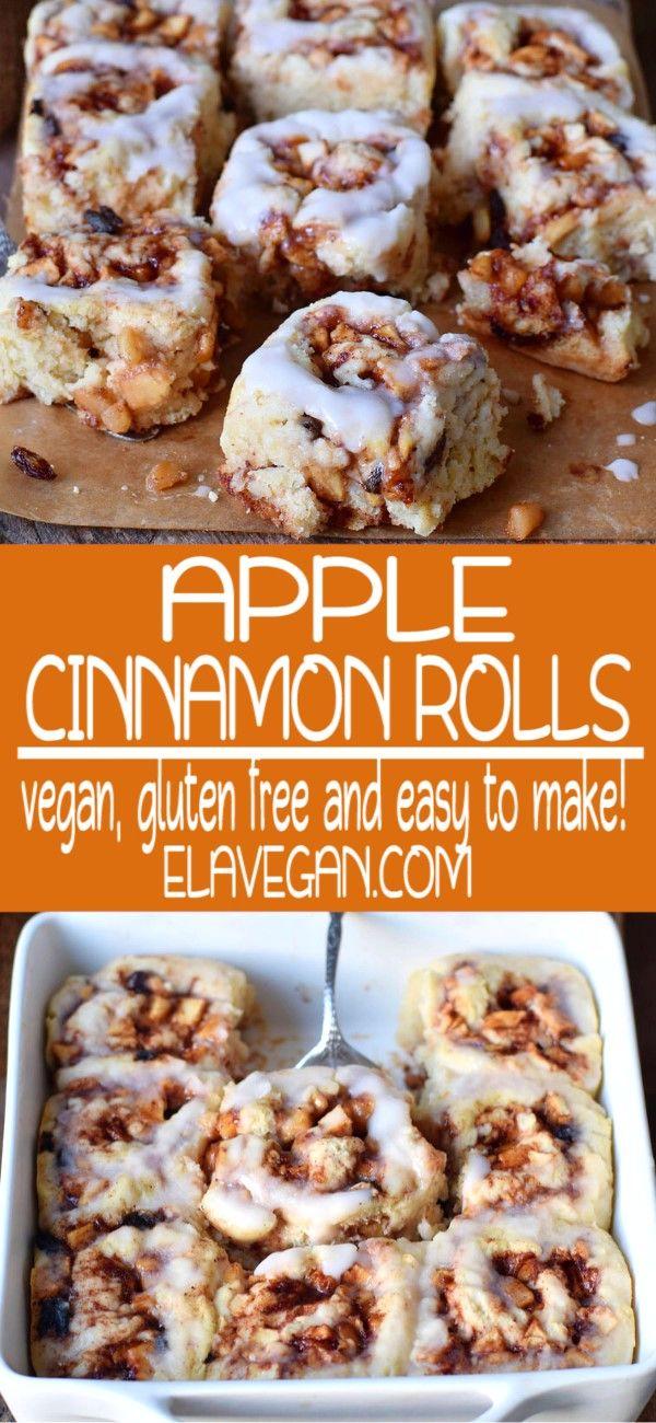 Apple Cinnamon Rolls Apple Cinnamon Rolls Cinnamon Rolls Vegan Breakfast Recipes