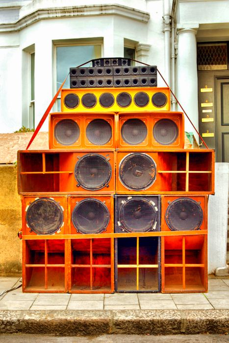 Sound Systems & Concert Posters  - Jamaican Sound System