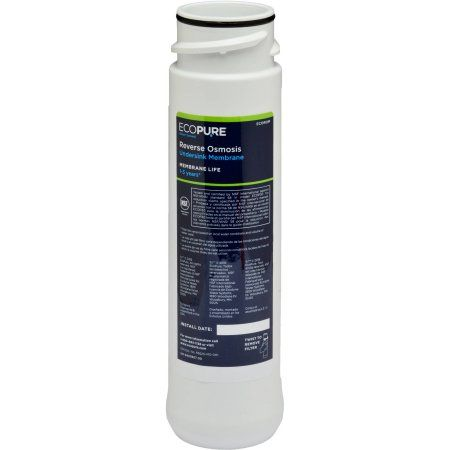 EcoPure Ecorom No Mess Reverse Osmosis Water Filter, NSF Certified, Membrane Replacement Water Filter (Fits ECOP30 System)