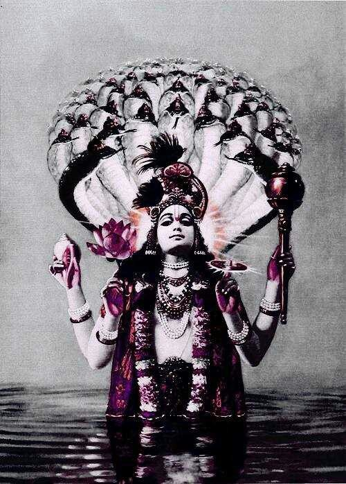 Olar Vishnu. Krishna's true form.