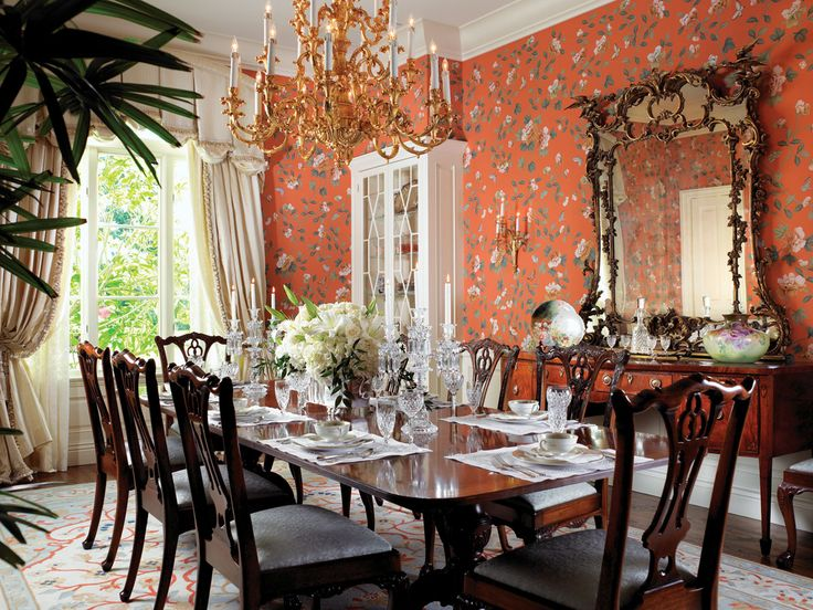 A Home In Bloom Beach Dining RoomGreen