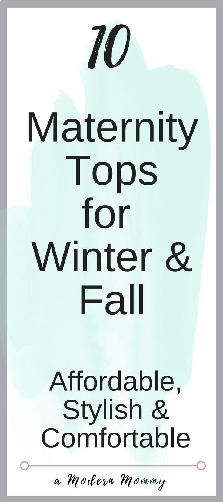 Maternity Clothing for Fall & Winter.  Affordable, Stylish, Comfortable Maternity Shirts and Maternity Sweaters during your pregnancy you must have for Winter and Fall!  Enjoy your pregnancy in style without overspending!