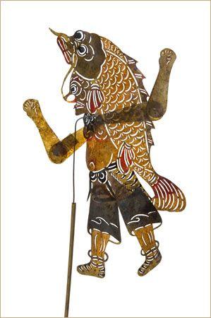 Chinese mythology http://www.interactchina.com/shadow-puppets/#.VUyKDfmqqko