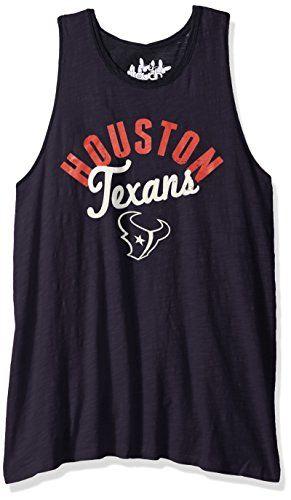 NFL Houston Texans Touch by Alyssa Milano Homerun T-back tank top