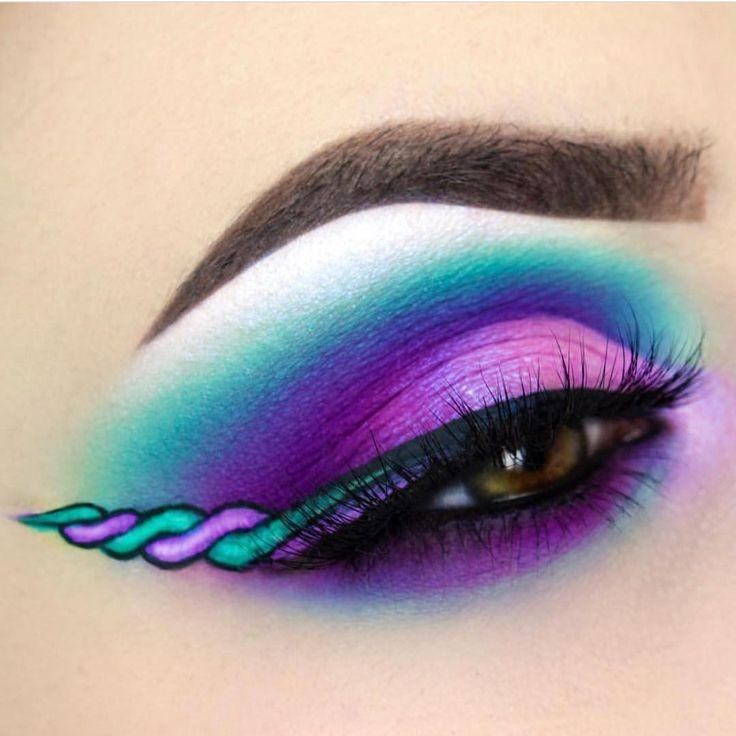 Giulianna Arana riempie i nostri giorni di colore !! Ha creato questo splendido eyeliner …