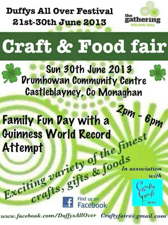 Craft and Food Fair June 2013