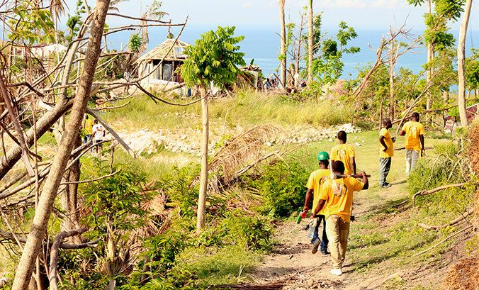 'HAITI THE YEARS AFTER'  By Bruce Leonard    Read the full story on @FreedomMag http://qoo.ly/fj5qu    Scientology Volunteer Ministers trained in the wake of two of the island nation's worst disasters now serve as a permanent force for hope and help.    Although the Caribbean nation of Haiti, on the western part of the island of Hispaniola, serves up plenty of scenic vistas, 80 percent of its residents live below the poverty line, with more than half living on less than $2 per day. Even in…