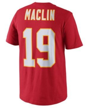 Nike Jeremy Maclin Kansas City Chiefs Pride Name and Number T-Shirt, Big Boys (8-20) - Red L